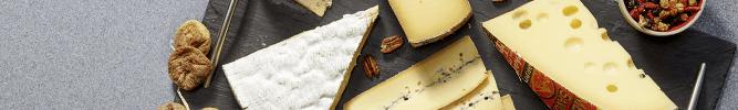 Les plateaux de fromages