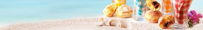Goûter à la plage