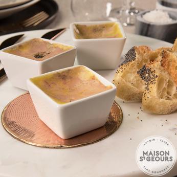 Mini terrine de foie gras mi-cuit