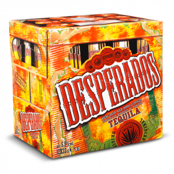 12 Bières aromatisée Téquila Desperados