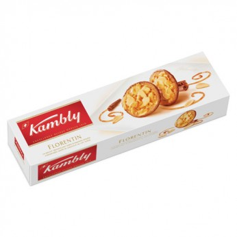 Biscuits amandes chocolat lait Kambly