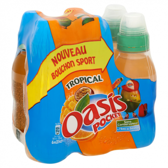 Boisson aux fruits tropical Oasis Pocket