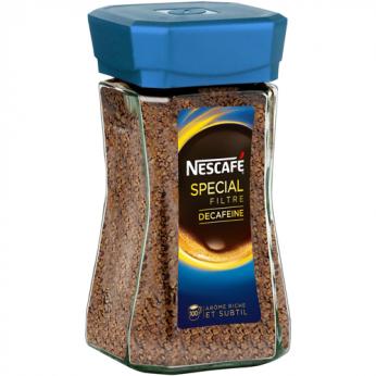 Café soluble décaféiné Nescafé