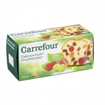 Cake aux fruits Carrefour