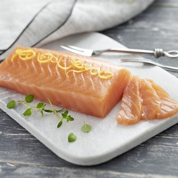 Cœur de saumon Atlantique fumé traditionnel