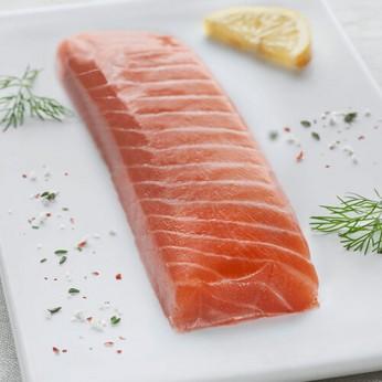 Cœur de filet de saumon fumé