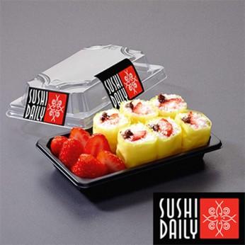 Dessert maki chocolat fraise