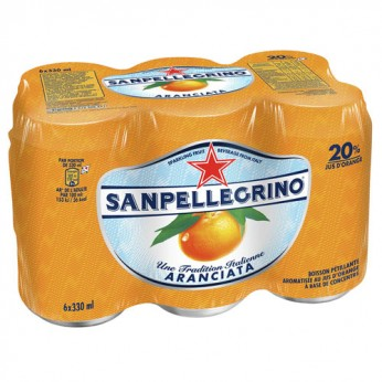 Eau gazeuse orange Sanpellegrino