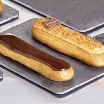 2 Eclairs chocolat spéculoos
