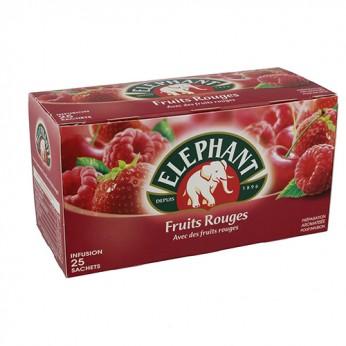 Infusion fruits rouges Eléphant