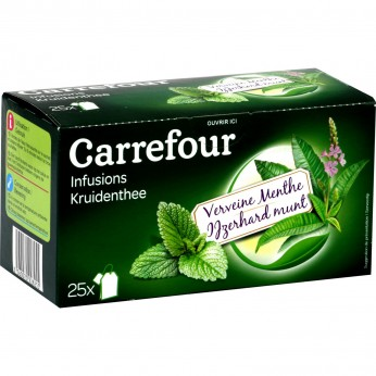 Infusion verveine menthe Carrefour