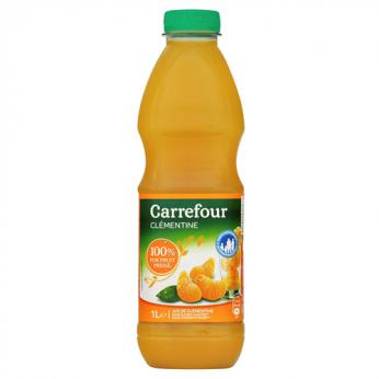 Jus de clémentine Carrefour