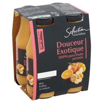 Jus de fruits multifruits Carrefour Selection