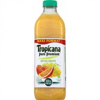 Jus de fruits orange/mandarine/raisin Tropicana