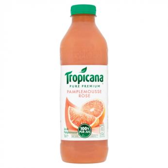 Jus de pamplemousse rose 100% pur jus Tropicana