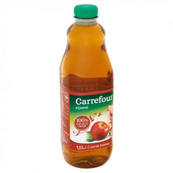 Jus de pomme 100% pur fruit pressé Carrefour