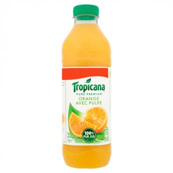 Jus d'orange avec pulpe Tropicana