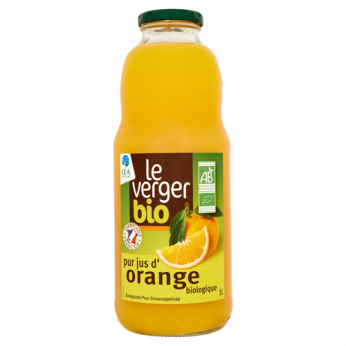 Jus d'orange bio Le Verger Bio