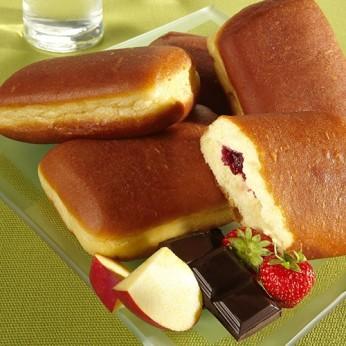 2 maxis beignets aux fruits rouges