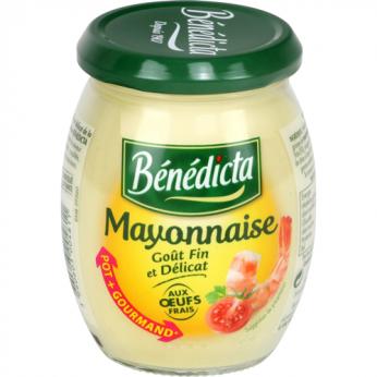 Mayonnaise aux oeufs frais Bénédicta