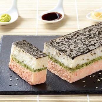 Mini entremet sushi saumon
