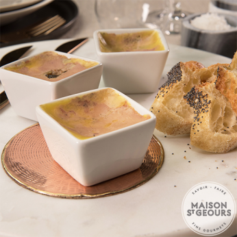 Mini terrine alliance foie gras et figue