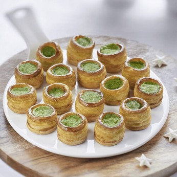 16 mini-feuilletés escargots à la bourguignonne