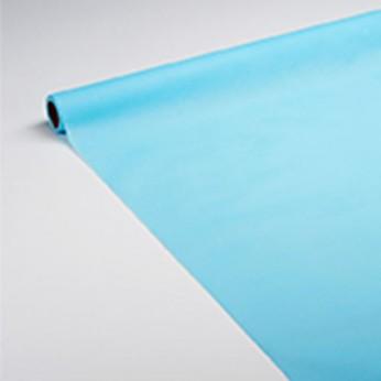 Nappe en papier turquoise 7x1,18m