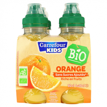 Nectar orange bio Carrefour Kids Bio