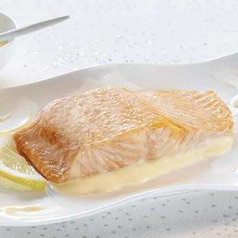 Pavé de saumon sauce beurre blanc