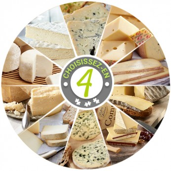 Plateau de 4 fromages