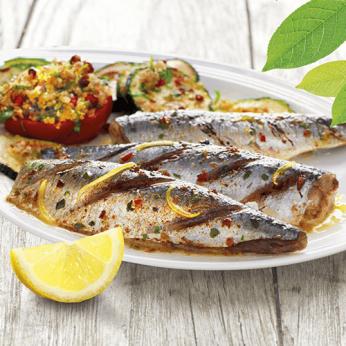 Plateau grill de sardines