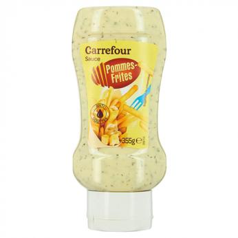 Sauce pommes frites Carrefour