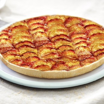 Tarte vergeoise aux nectarines - 6 parts