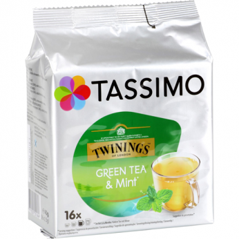 Thé capsules Twinings menthe Tassimo