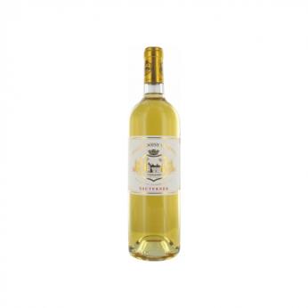 Vin Blanc moelleux Sauternes 2013 Château Doisy-Vedrines