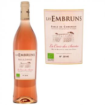 Vin rosé bio Vin de pays Sable de Camargue Les Embruns