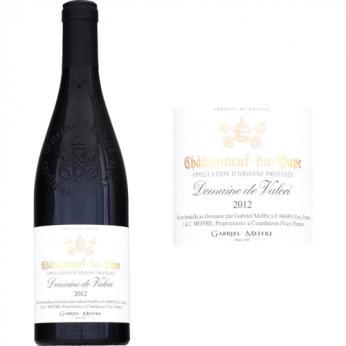 Vin rouge Chateauneuf-du-Pape rouge 2012 Domaine de Valori