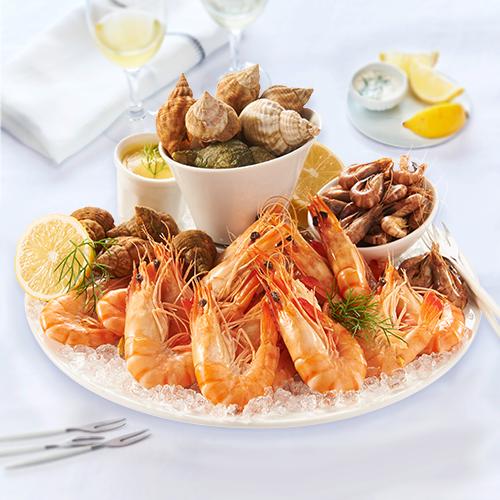 Bien-aimé Assiette de fruits de mer spécial apéritif - Bonne fête Maman - En  JB05