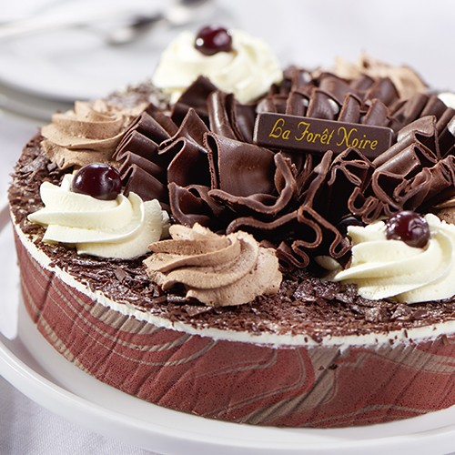 forêt noire - 8 parts - gâteaux - gâteaux & desserts - traiteur à