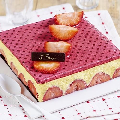 fraisier - 6/8 parts - gâteaux - gâteaux & desserts - traiteur à