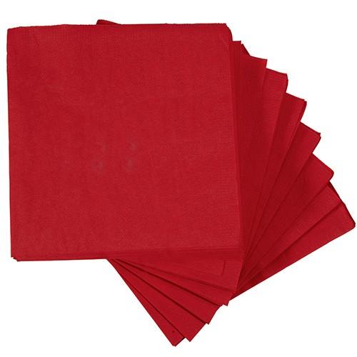 50 serviettes en papier rouge 33x33 cm carrefour home bonne f te maman en ce moment. Black Bedroom Furniture Sets. Home Design Ideas