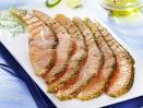Emincé de saumon fumé, aneth et citron
