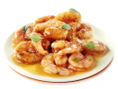 Farandole de crevettes sauce asiatique