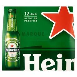 12 bières Heineken - 25cl