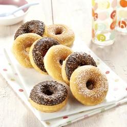 8 donuts assortis