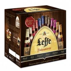 12 Bières assortiment Découverte Leffe