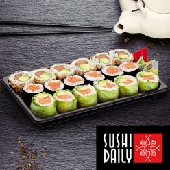 Assortiment de 18 makis
