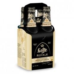 4 Bières royales Leffe