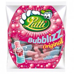 Bonbons Bubblizz bubble gum Lutti